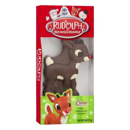 Rudolph the Red-Nosed Reindeer Milk Chocolate Flavored by Palmer, 2.5oz