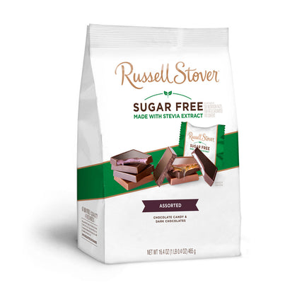Russell Stover Sugar Free Assortment with Stevia, 16.4 oz