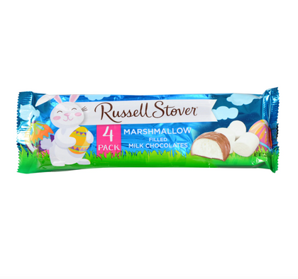 Russell Stover Easter Marshmallow Filled Milk Chocolates, 2.25oz