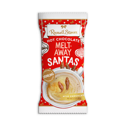 Russell Stover Hot Chocolate Melt-Away Santas, 1.7oz