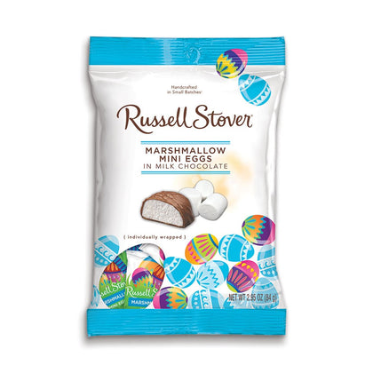 Russell Stover Marshmallow Mini Eggs, 2.9oz