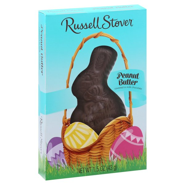 Russell Stover Peanut Butter Bunny, 1.5oz