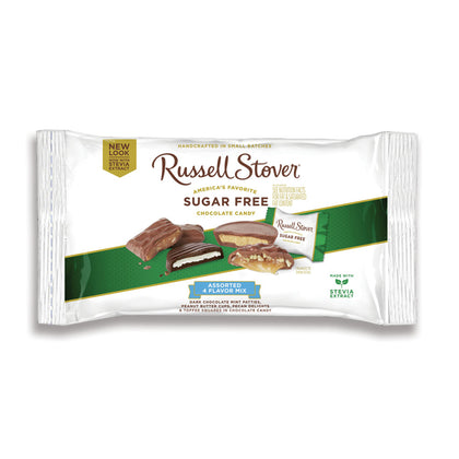 Russell Stover Sugar Free Assorted 4 Flavor Mix, 10oz Bag