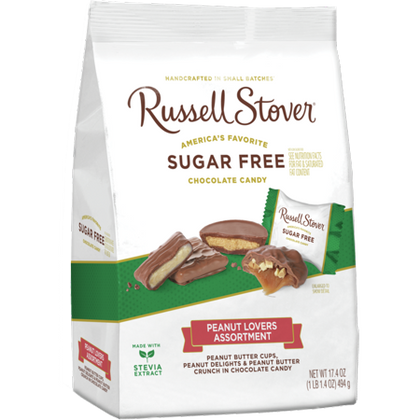 Russell Stover Sugar Free Peanut Lovers Assortment, 17.4 oz