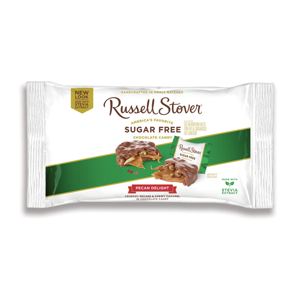 Russell Stover Pecan Delight Sugar Free, 10oz Bag