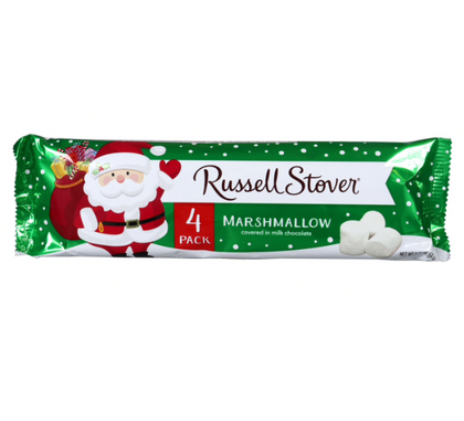 Russell Stover Chocolate Covered Marshmallow Candies, 4ct, 2.25oz