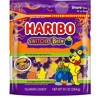 Haribo S'Witches' Brew Gummi Candy, 10oz Bag