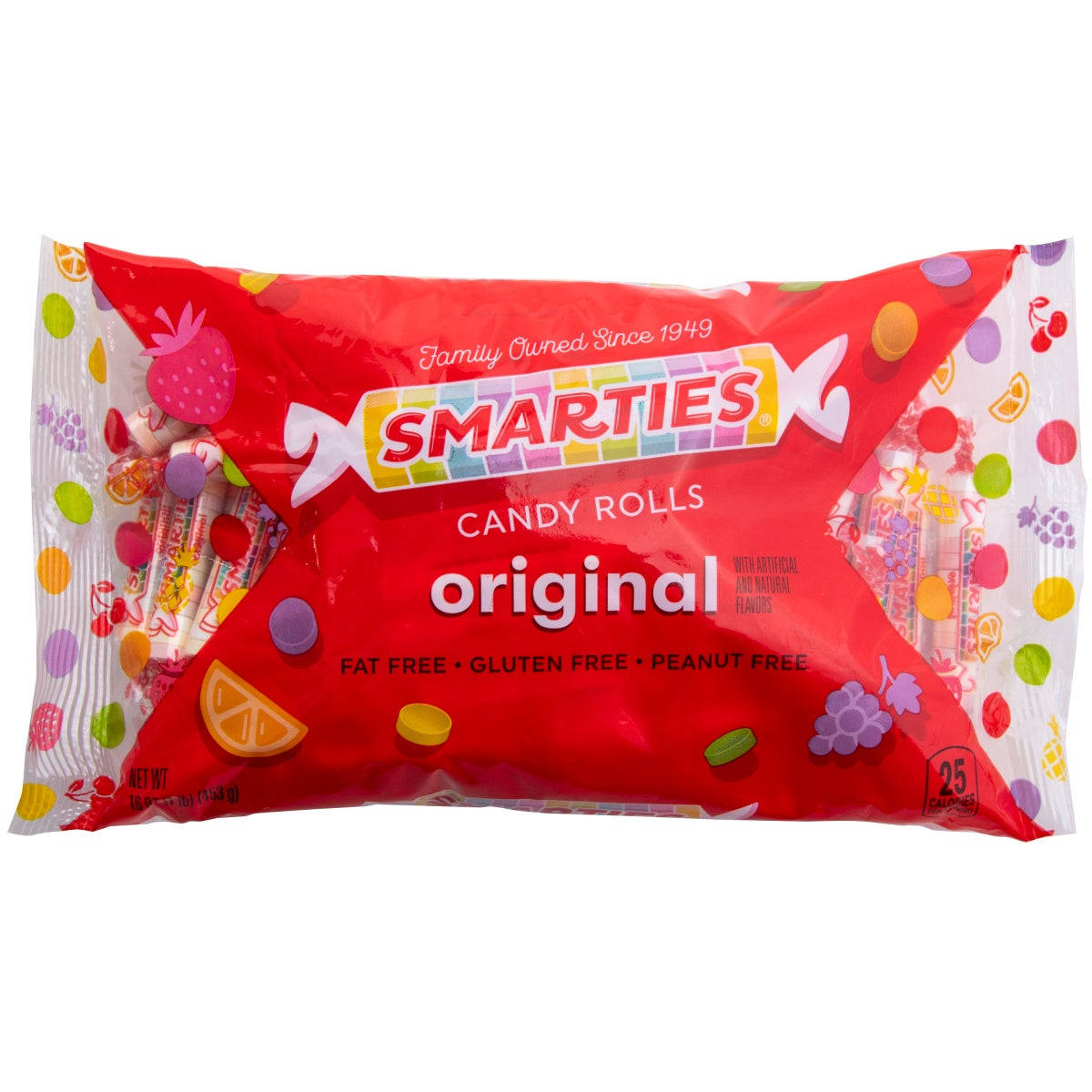 Smarties Candy Rolls, Original, 16oz