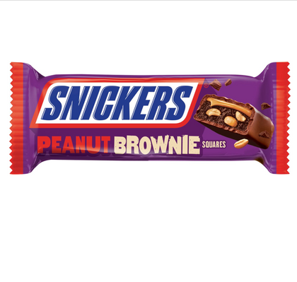 Snickers Peanut Brownie Squares, 1.20oz