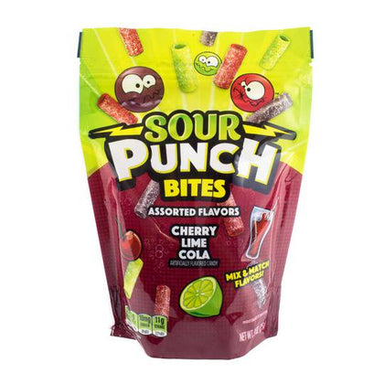 Sour Punch Bites Cherry, Lime, & Cola, 9oz