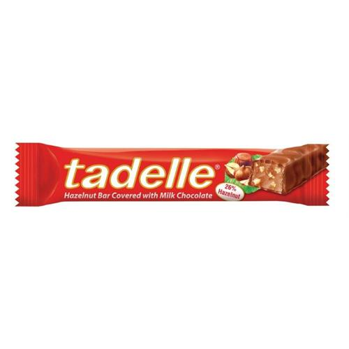 Tadelle Hazelnut Milk Chocolate Bar, 1.06oz (Product of Turkey)
