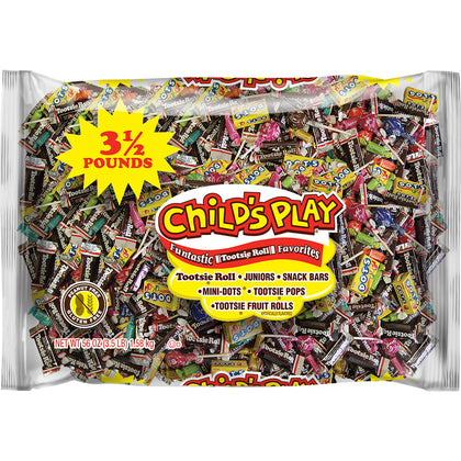 Tootsie Child's Play Variety Candies Pack, 3.5 Lb