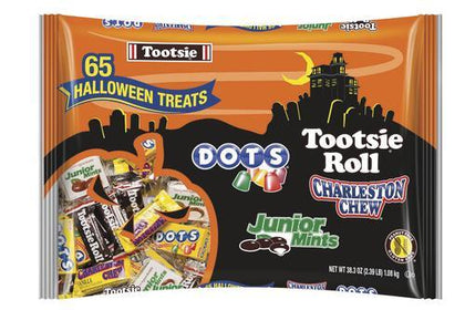 Tootsie Halloween Treats Assortment, 38.3oz