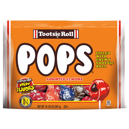 Tootsie Roll Pops Assorted Flavors, 10.12oz