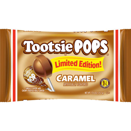 Tootsie Pops Caramel Limited Edition, 12.6oz