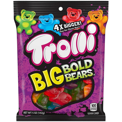 Trolli Big Bold Bears Gummi Candies, 5oz