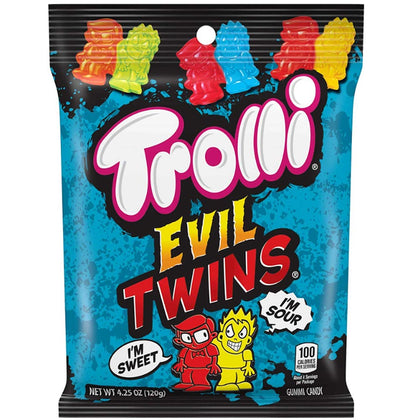 Trolli Evil Twins Gummy Candy, 4.25oz