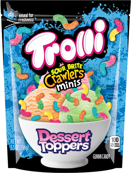 Trolli Sour Bite Crawlers Minis Dessert Toppers, 5.5oz