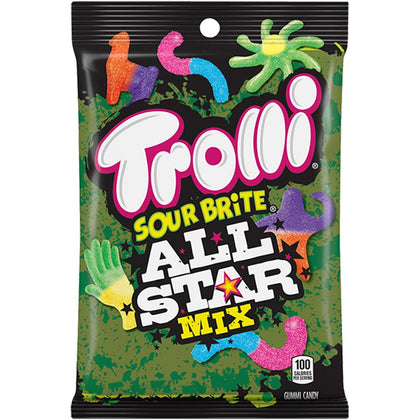 Trolli Sour Brite All Star Mix, 3.8oz