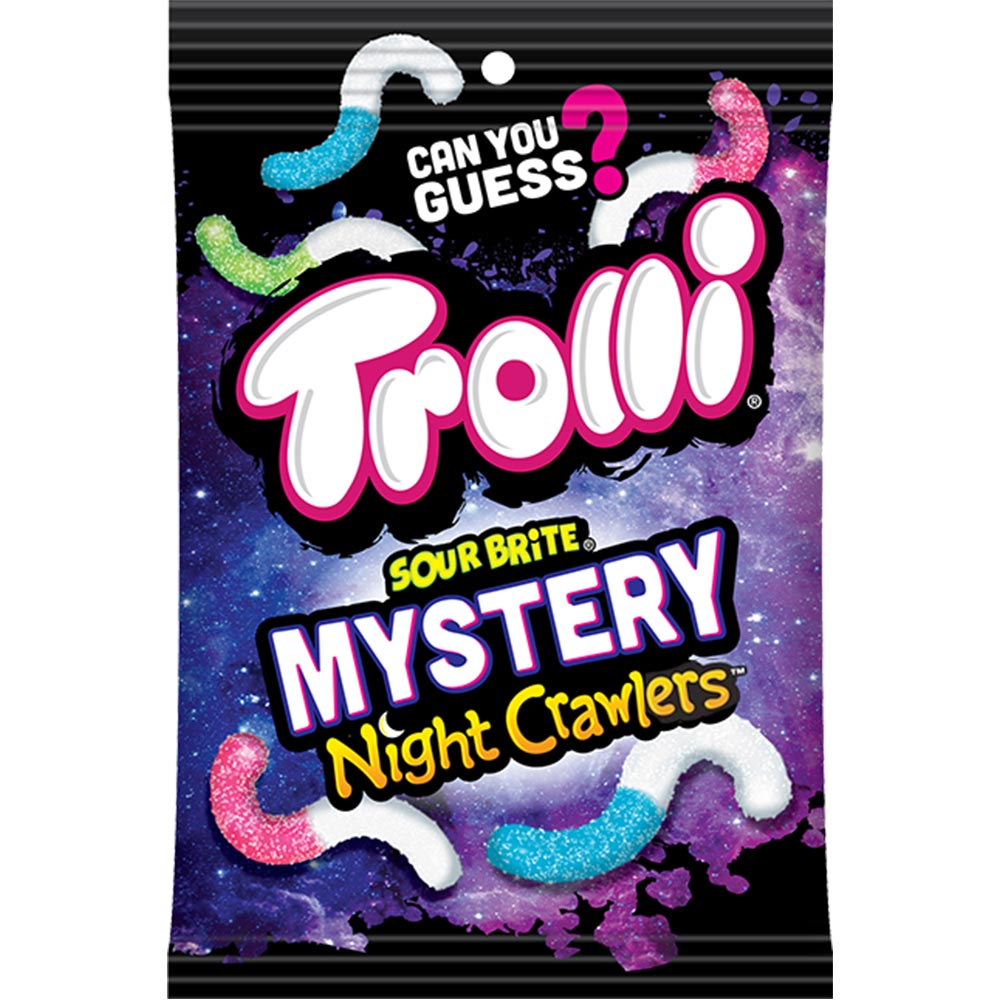 Trolli Sour Brite Mystery Night Crawlers, 3.8oz