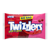 Twizzlers Pull-N-Peel Cherry Licorice Candy, Big Bag, 28oz