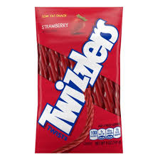 Twizzlers Strawberry Flavored Twists, 5oz