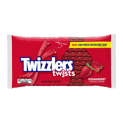 Twizzlers Strawberry Flavored Twists, 16oz