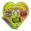 Warheads Extreme Sour Assorted Flavor Candy in a Heart Box, 1 Oz.