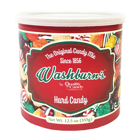 Washburn's Original Old Fashion Mix Christmas Hard Candy, 12.5oz
