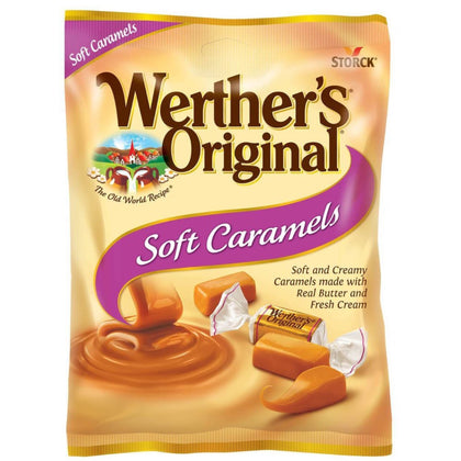 Werther's Original Soft Caramel Candies, 2.22 Oz