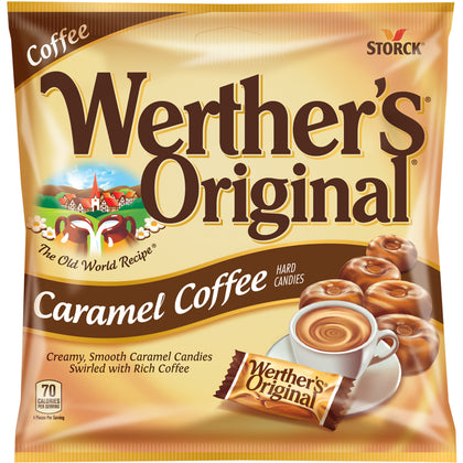 Werther's Original, Caramel Coffee Hard Candies, 2.65oz