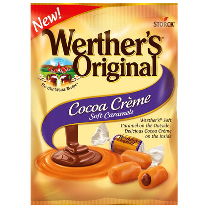 Werther's Original Cocoa Creme Soft Caramels, 2.22oz