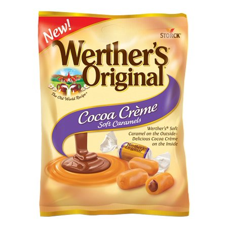 Werther's Original Cocoa Creme Soft Caramels, 4.51 Oz