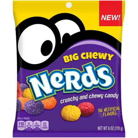 Wonka Big Chewy Nerds Candy, 6 Oz