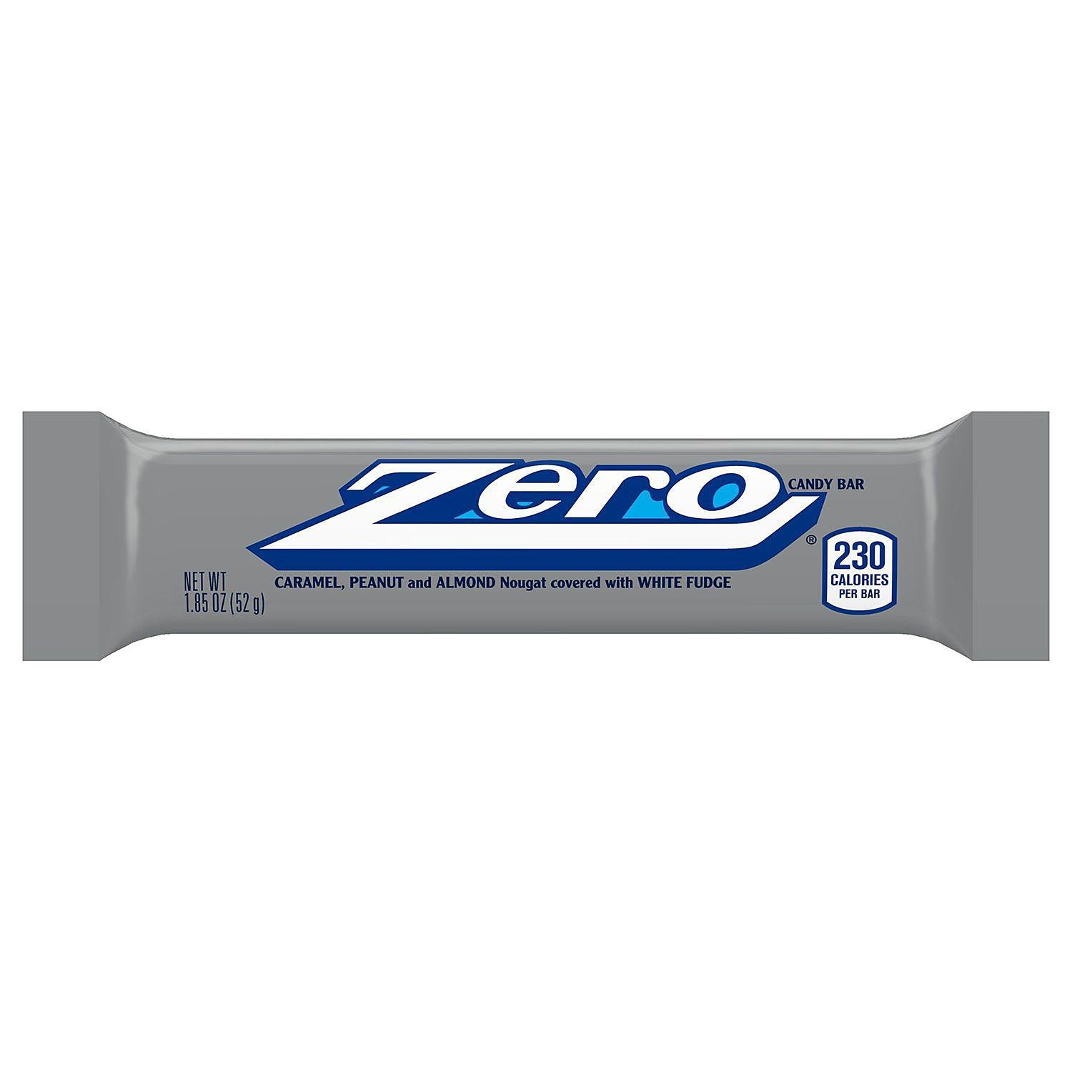 Zero Candy Bars, 1.85oz Bars, 24 pk, Net Wt 2lb 12.4oz
