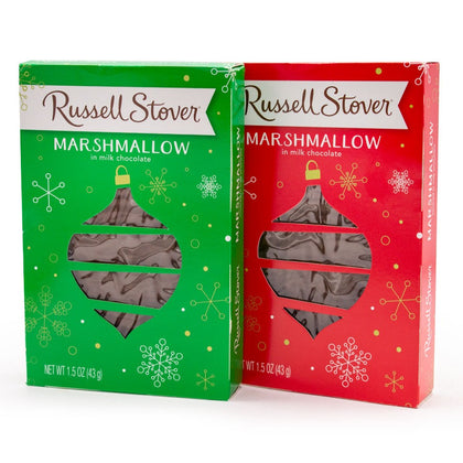 Russell Stover Marshmallow Ornament, 1.5oz