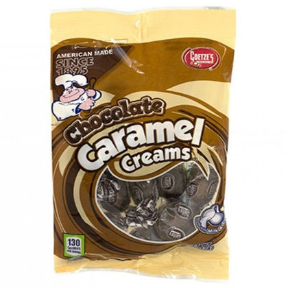 Goetze's Chocolate Caramel Creams, 4oz