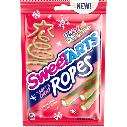 SweeTarts Ropes, Twisted Holiday Punch, 3oz