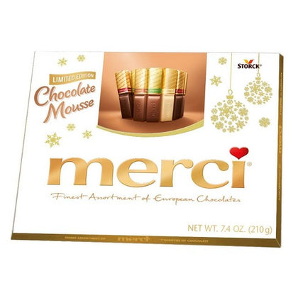 Merci Chocolate Mousse Assortment, Limited Edition, 7.4oz