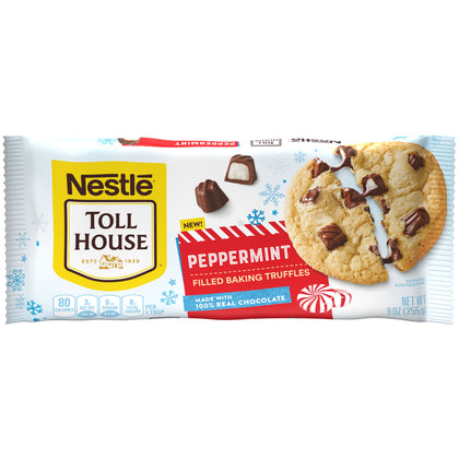 Nestle Toll House® Peppermint Filled Baking Truffles, 9oz Bag