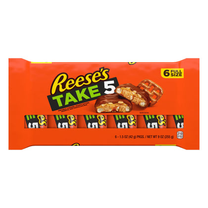 Reese's Take 5 Candy Bars, 6ct, 9oz