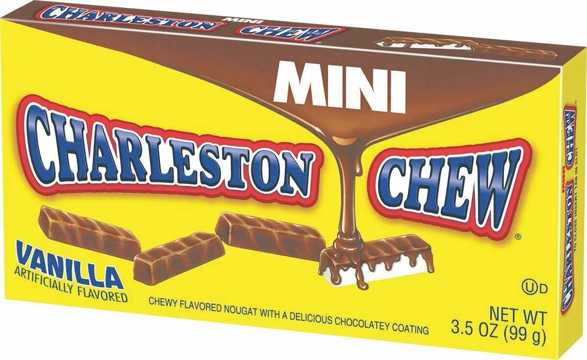 Charleston Chew Mini Vanilla Flavored, 3.5oz Theater Box
