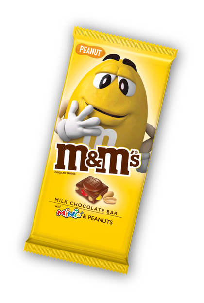 M&M'S Minis, Peanut Chocolate Candy Bar, 4 Oz