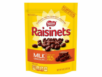 Nestle Raisinets Milk Chocolate Covered Raisins, 8oz
