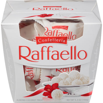 Raffaello Confetteria Almond Coconut Treat, Ballotin Box, 5.3 Oz