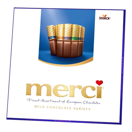 Merci European Milk Chocolate Variety, 7oz