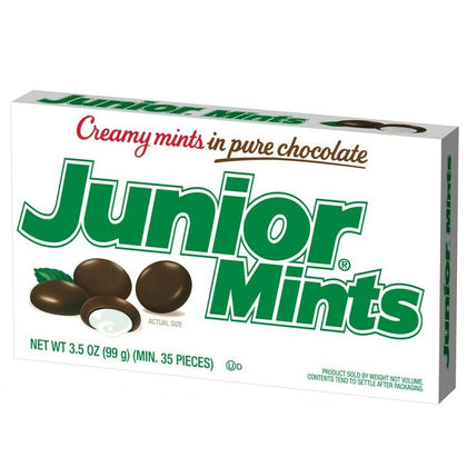 Junior Mints Candies, Theater Box, 3.5oz
