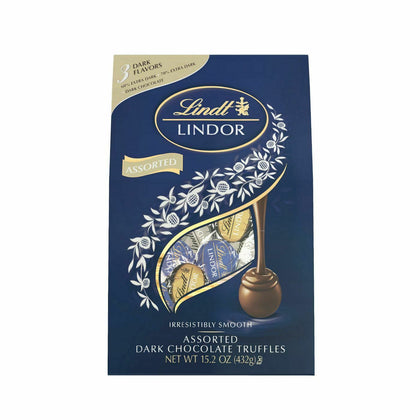 Lindt Lindor Dark Assorted Chocolates, 15.2oz