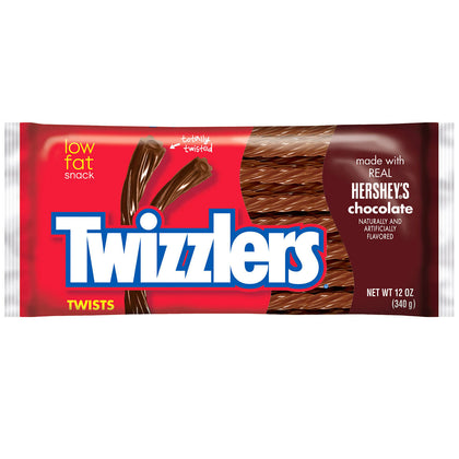 Twizzlers Twists, Hershey's Chocolate, 12oz Bag