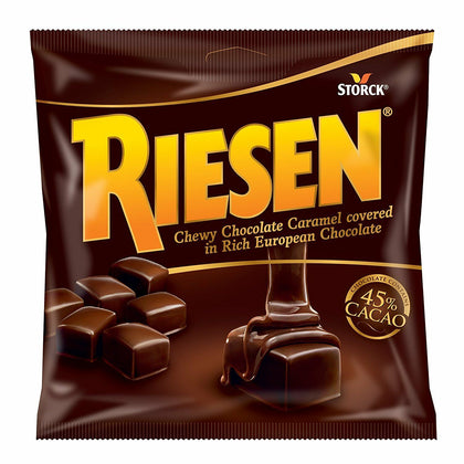 Storck Riesen Chewy Chocolate Caramel, 5.5 oz. Bag
